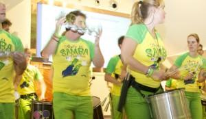 """there is samba in Heineken"""