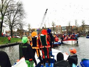 In de haven van Utrecht. Bemuurde Weerd / Weerdsingel.