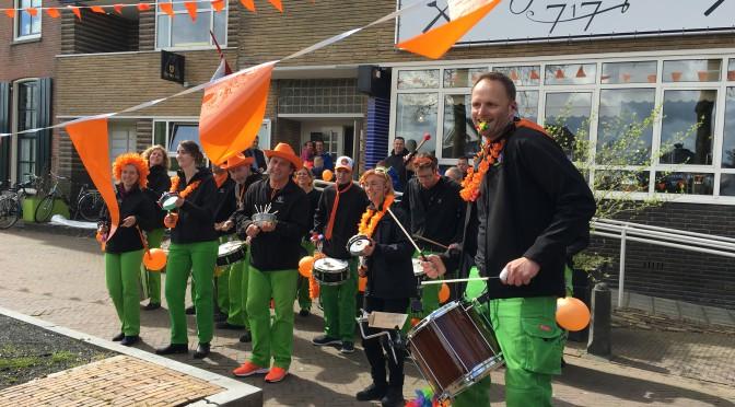 Mooie dag met Koningsdag in Vreeswijk 2016 (Nieuwegein)