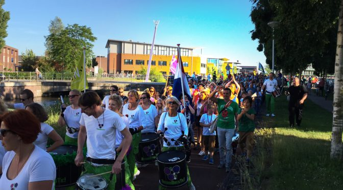 Avond4daagse IJsselstein 9 juni 2016
