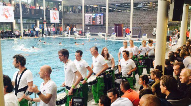 Waterpolo kampioenschappen Utrecht, en ze hebben gewonnen!