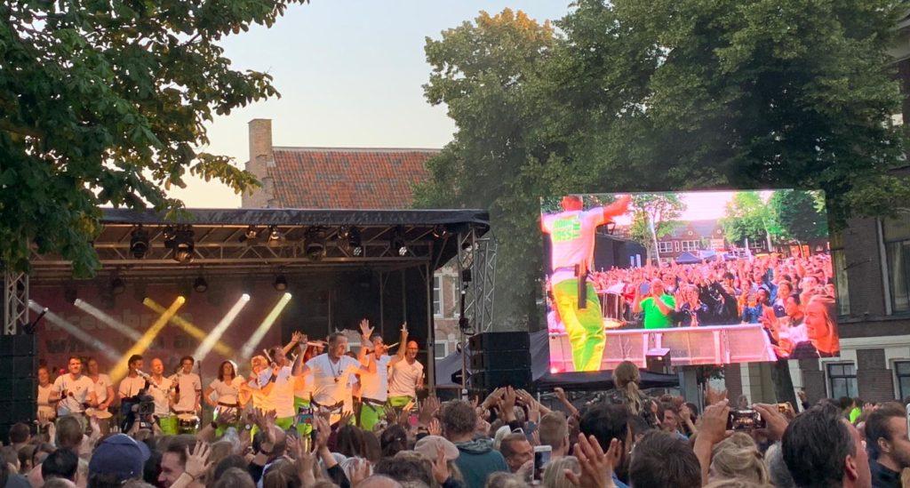 Sambaband BooomBassTic Midzomergracht Festival Utrecht